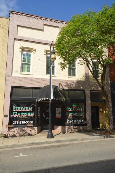 Galax Commercial For Sale: 104 Main