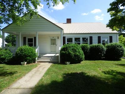Austinville Single Family Home Active Contingency: 126 Staff Street