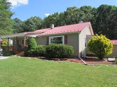Wythe County Single Family Home For Sale: 155 Copenhaver Rd