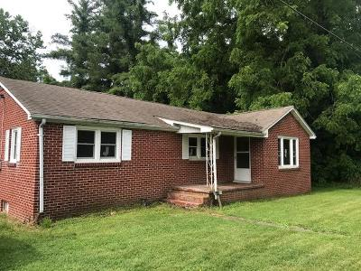 Chilhowie VA Single Family Home For Sale: $69,000
