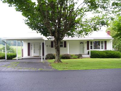 Bristol Single Family Home Active Contingency: 9511 Reedy Creek Road