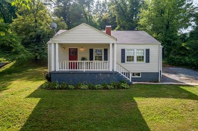 Bristol Single Family Home Active Contingency: 1370 Lee Highway