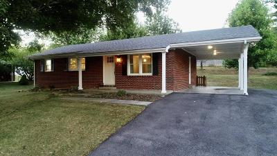 Wytheville Single Family Home For Sale: 1410 Reservoir St