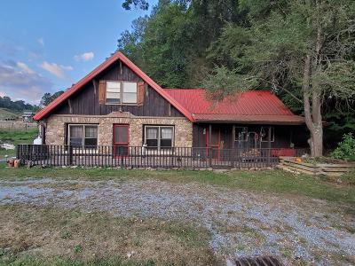 Grayson County Single Family Home For Sale: 4184 Troutdale Highway