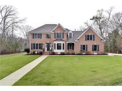 Toano Single Family Home Sold: 2645 Meadow Lake Drive