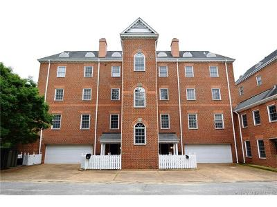 Hampton County, Isle Of Wight County, James City County, New Kent County, Suffolk County, Surry County, Williamsburg County, York County Condo/Townhouse For Sale: 514 South Henry Street #514