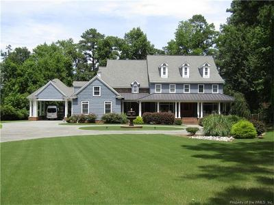 Yorktown Single Family Home For Sale: 544 Allens Mill Road