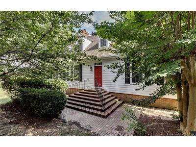 Fords Colony Single Family Home Sold: 409 Dogleg Drive