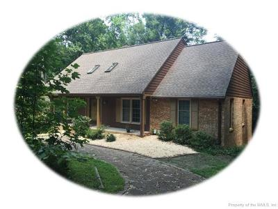 Williamsburg Single Family Home For Sale: 121 Little John Road