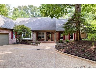 Williamsburg VA Single Family Home For Sale: $539,000
