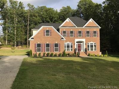 Williamsburg VA Single Family Home For Sale: $629,990