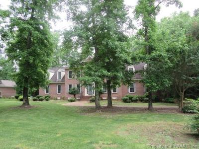 Governors Land Single Family Home For Sale: 2940 Nathaniels Run