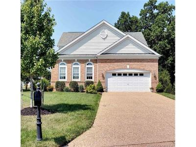 The Settlement At Powhatan Creek, Villas At Five Forks, Colonial Heritage Single Family Home For Sale: 6927 Glory Lane