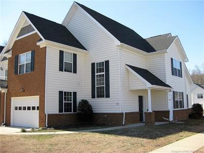Williamsburg VA Condo/Townhouse For Sale: $264,800