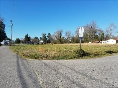 Charles City Co., Isle Of Wight County, James City Co., New Kent County, Newport News County, Suffolk County, Surry County, Williamsburg County, York County Residential Lots & Land For Sale: 0000 Railroad Avenue