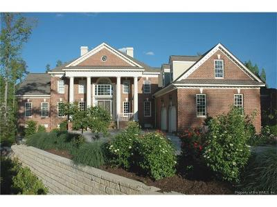 Isle Of Wight County, James City County, New Kent County, Suffolk County, Surry County, Williamsburg County, York County Single Family Home For Sale: 120 Castel Pines