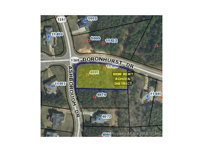 Charles City Co., Isle Of Wight County, James City Co., New Kent County, Newport News County, Suffolk County, Surry County, Williamsburg County, York County Residential Lots & Land For Sale: 11433 Doronhurst Drive