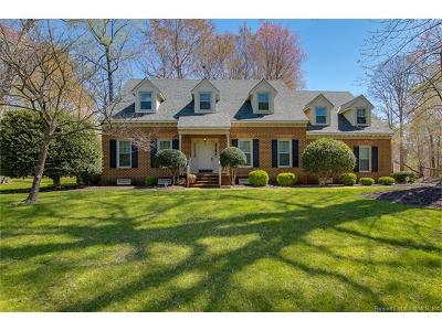 Newport News Single Family Home For Sale: 324 Watermill Run