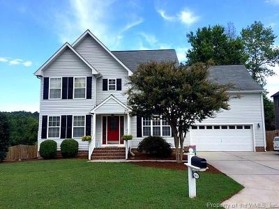 Toano Single Family Home For Sale: 8851 Fenwick Hills Parkway