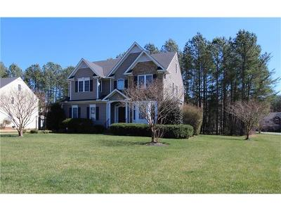 Providence Forge Single Family Home For Sale: 4137 Virginia Rail Drive