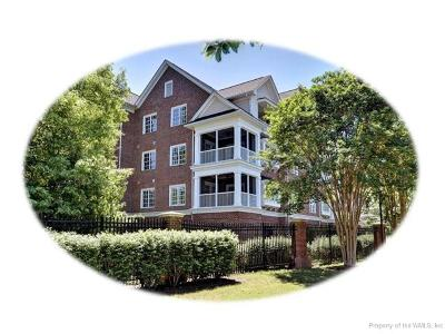 Hampton County, Isle Of Wight County, James City County, New Kent County, Suffolk County, Surry County, Williamsburg County, York County Condo/Townhouse For Sale: 2103 Eaglescliffe