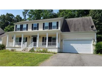 Toano Single Family Home For Sale: 3527 Pine Ridge Road