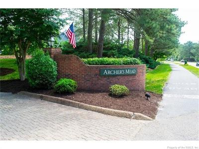 Kingsmill Condo/Townhouse For Sale: 334 Archers Mead #334