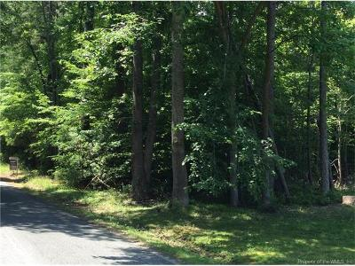 Toano Residential Lots & Land For Sale: 164 Bush Springs Road