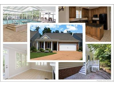 The Settlement At Powhatan Creek Single Family Home For Sale: 3520 Cedar Branch