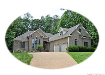 Providence Forge Single Family Home For Sale: 5880 Brickshire Drive