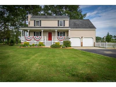 Hayes Single Family Home For Sale: 2357 Jenkins Neck Road