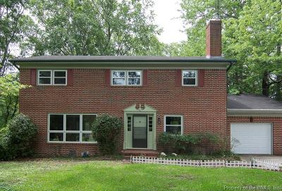 Isle of Wight County Single Family Home For Sale: 39 Gurwen Drive