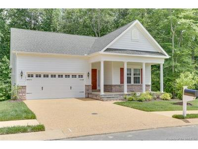 The Settlement At Powhatan Creek Single Family Home For Sale: 3833 South Orchard