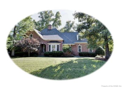 Williamsburg VA Single Family Home Sold: $719,000