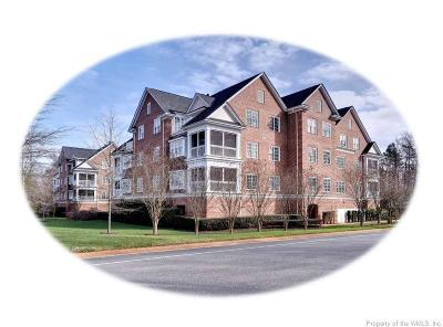 Hampton County, Isle Of Wight County, James City County, New Kent County, Suffolk County, Surry County, Williamsburg County, York County Condo/Townhouse For Sale: 2204 Eaglescliffe #2204