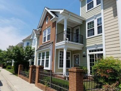 Suffolk Condo/Townhouse For Sale: 8121 Lee Hall Avenue #19