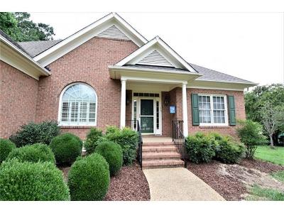 Single Family Home For Sale: 605 Dam Lake Court