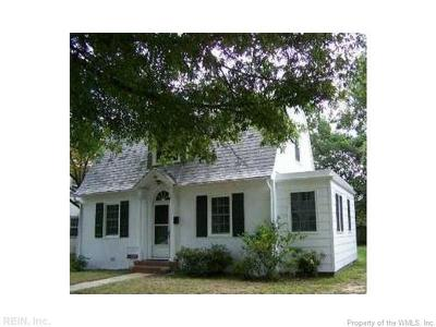 Newport News Single Family Home For Sale: 98 Hopkins