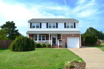 Newport News Single Family Home For Sale: 13 Keswick Circle