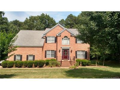 Williamsburg VA Single Family Home For Sale: $349,000
