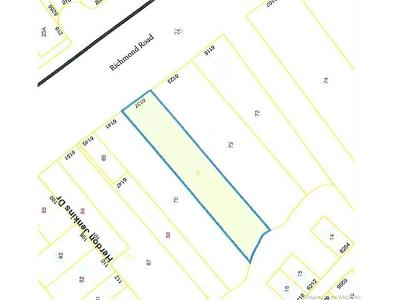 Norge, Toano, Williamsburg Residential Lots & Land For Sale: 6137 Richmond Road