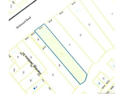 Norge, Toano, Williamsburg Residential Lots & Land For Sale: 6141 Richmond Road