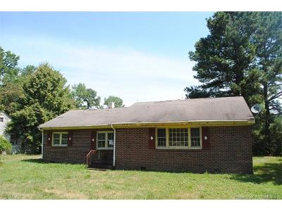 Surry Single Family Home For Sale: 4191 East Colonial Trail