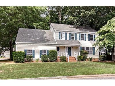 Yorktown Single Family Home For Sale: 301 Lexington Court