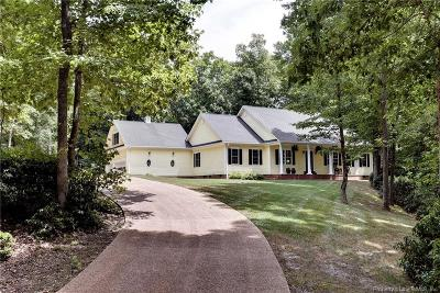 Williamsburg VA Single Family Home For Sale: $507,500
