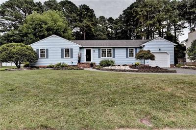 Newport News VA Single Family Home Sold: $279,000