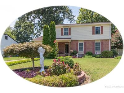 Newport News Single Family Home For Sale: 231 Telford Drive