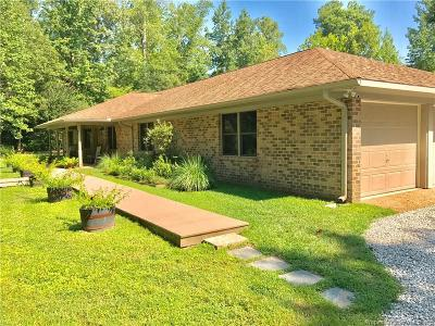 Single Family Home For Sale: 819 Carters Neck Road