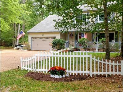 Williamsburg VA Single Family Home For Sale: $319,000