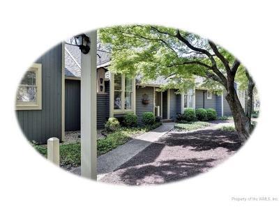Kingsmill Condo/Townhouse For Sale: 317 Littletown Quarter